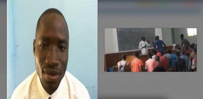 UCAD : L'étudiant qui avait arraché le micro à un prof finalement arrêté