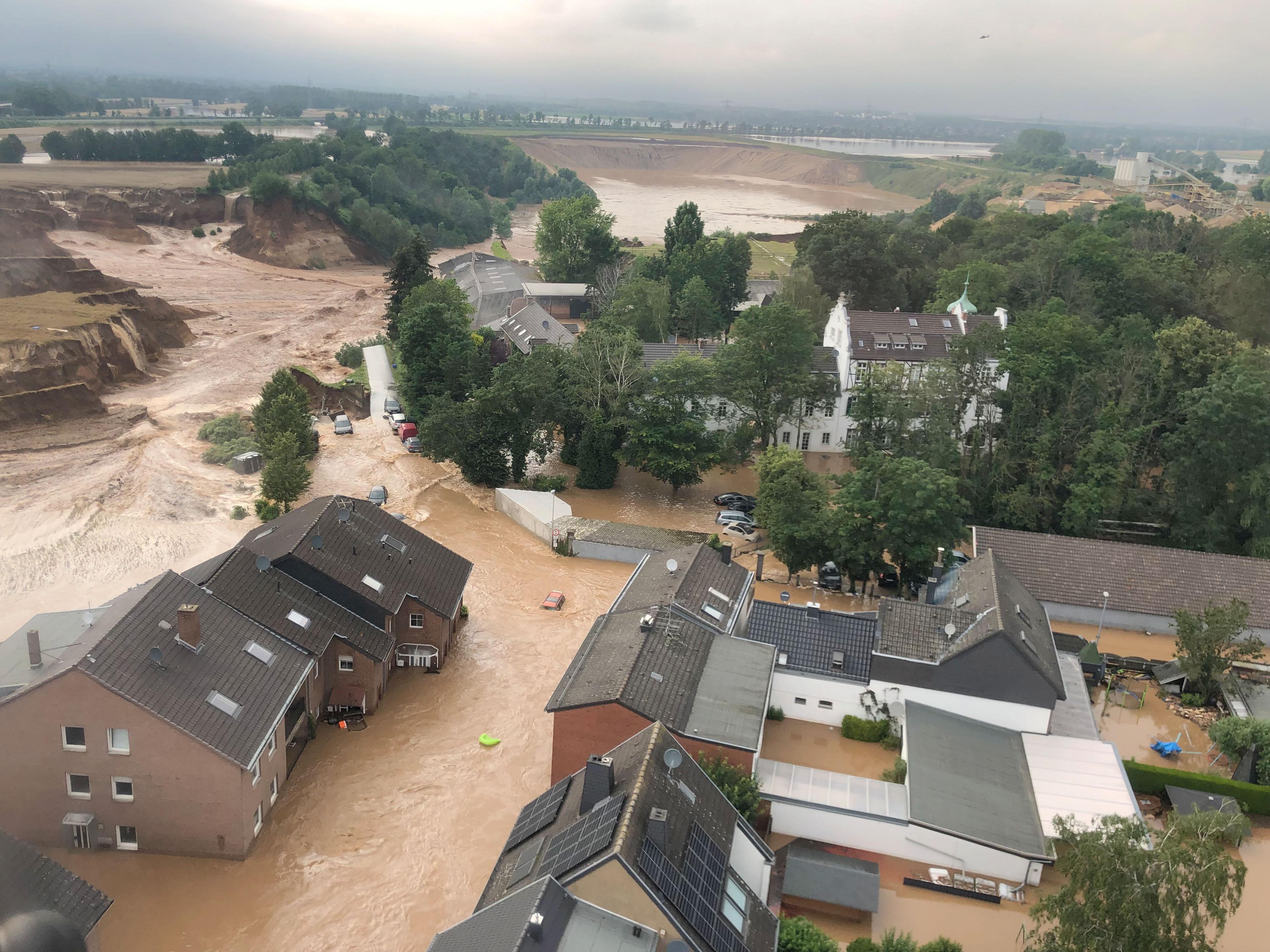 Intempéries en Allemagne : Plusieurs morts et disparus dans un énorme glissement de terrain