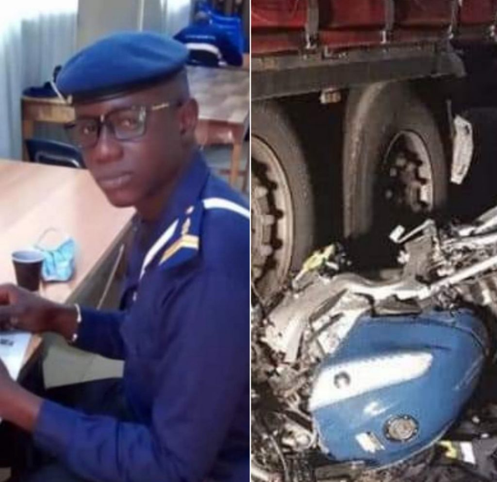 Tambacounda: Voici le gendarme Papis Badji tué par un camion malien
