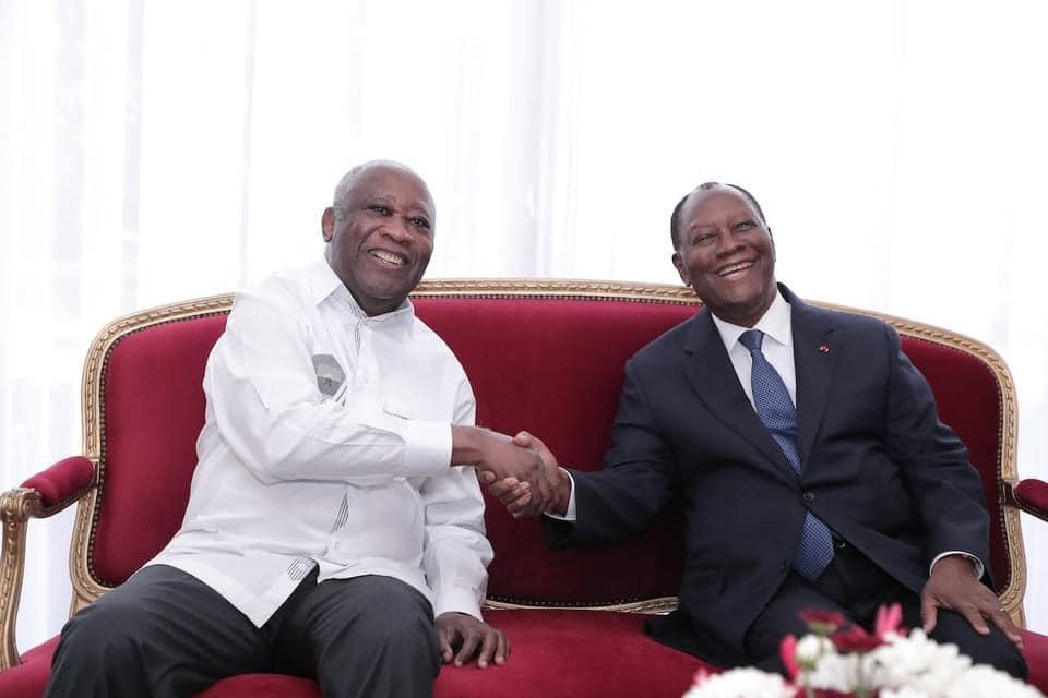 Côte d'Ivoire : Rencontre entre Ouattara et Gbagbo