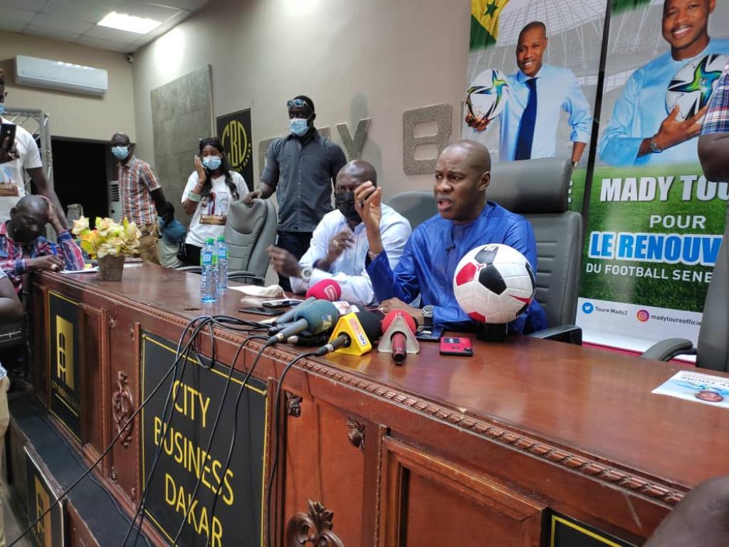 """Mady Touré dénonce : """"Augustin a adopté mon programme pour tromper les Sénégalais"""""""