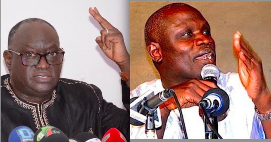 """Présidence de la FSF: Me El Hadj Diouf et Gaston Mbengue en """" guerre """" contre la candidature de Augustin Senghor"""