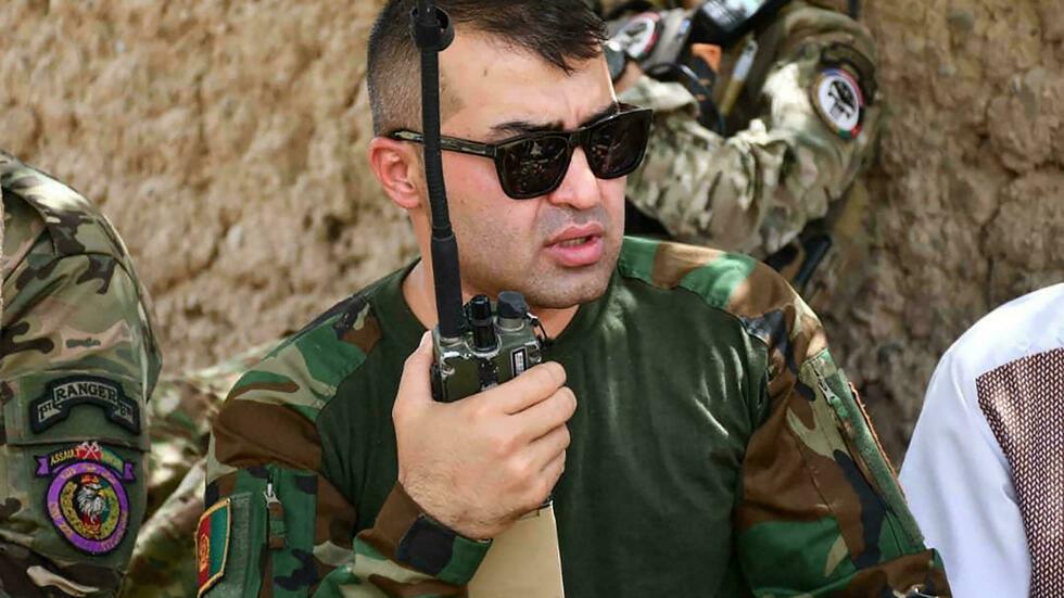Le jeune général Sami Sadat cristallise l'espoir des Afghans dans la guerre contre les Talibans