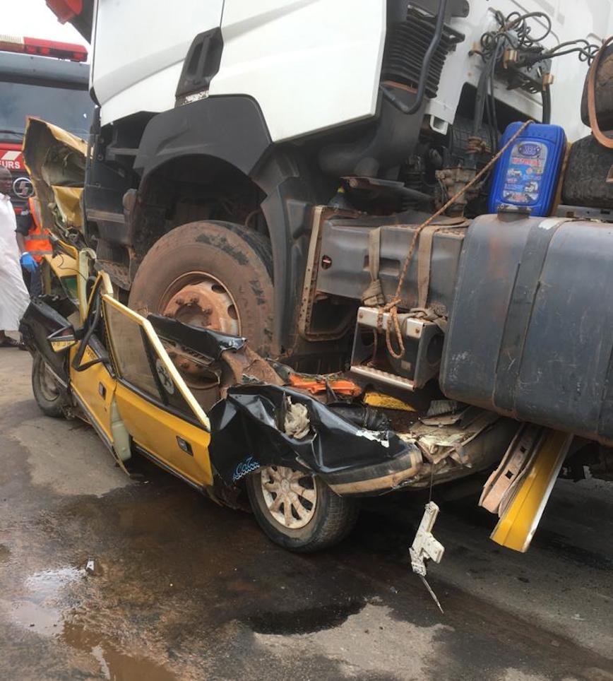 KAOLACK : Au moins 4 morts dans un accident