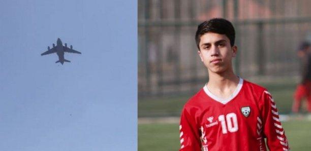 Un jeune footballeur est mort en tombant d'un avion pour tenter de fuir l'Afghanistan