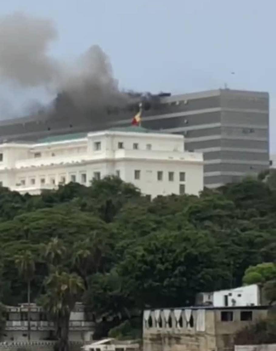 Dernière minute: Incendie au building administratif de Dakar