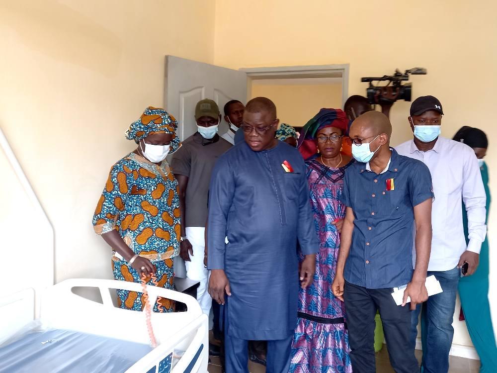 Ziguinchor : Abdoulaye Baldé équipe le poste de santé de Goumel
