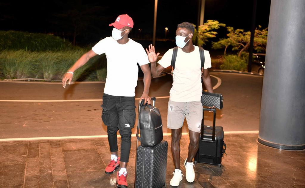 Sénégal vs Togo : L'arrivée de Sadio Mané, Mendy, Dieng, Lopy... à Diamniadio