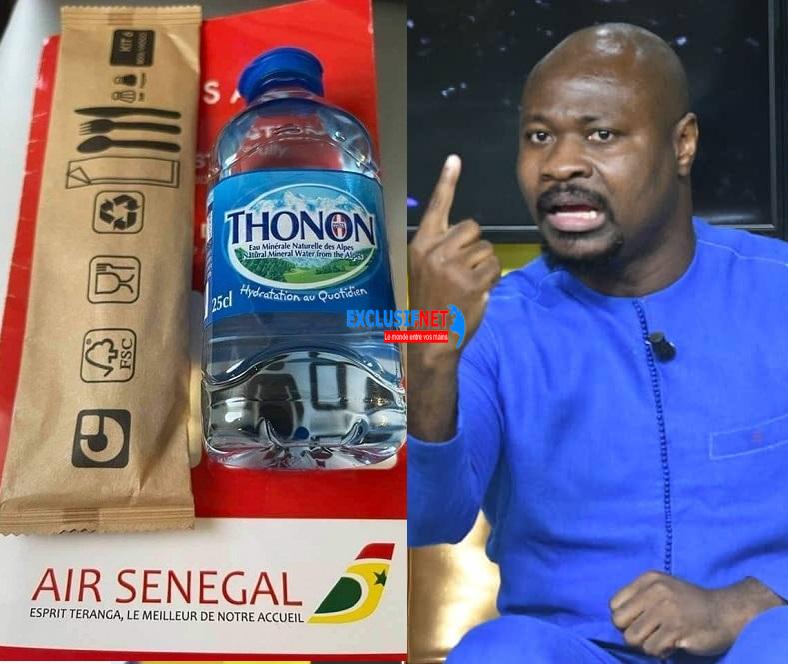 "Guy Marius Sagna démasque Air Sénégal SA:  ""Ndoxu France lañuy joxe ci Air Senegal"""