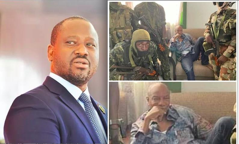 """Guillaume Soro : """"J'ai suivi avec tristesse les images humiliantes de l'arrestation du Président Condé depuis ma terre d'exil"""""""
