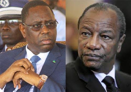 Chute d'Alpha Condé : Le président Sall brise le silence