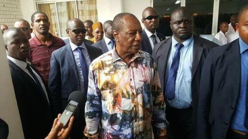 Guinée: la mission de la Cédéao a rencontré Alpha Condé