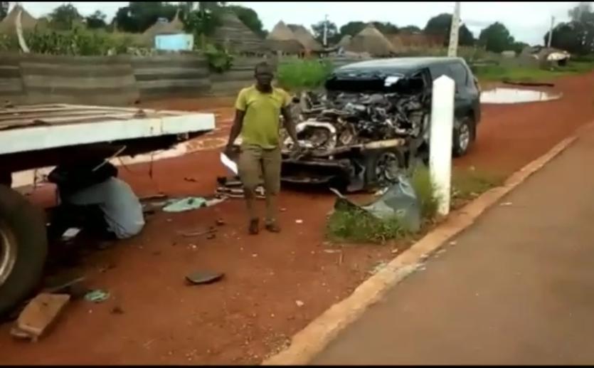 Accident : Le chauffeur de Moustapha Guirassy est décédé
