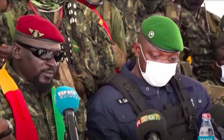 Guinée : Le colonel de gendarmerie Balla Samoura devient le N°2 de la junte