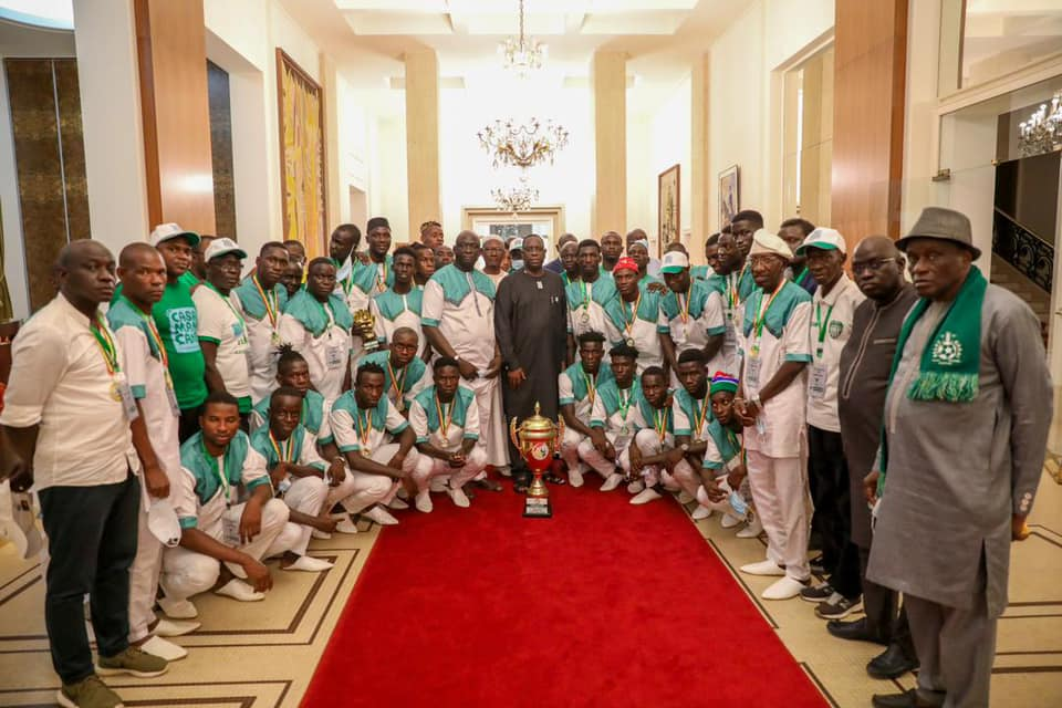 Coup du Sénégal : Macky félicite le Casa Sports et ses dirigeants