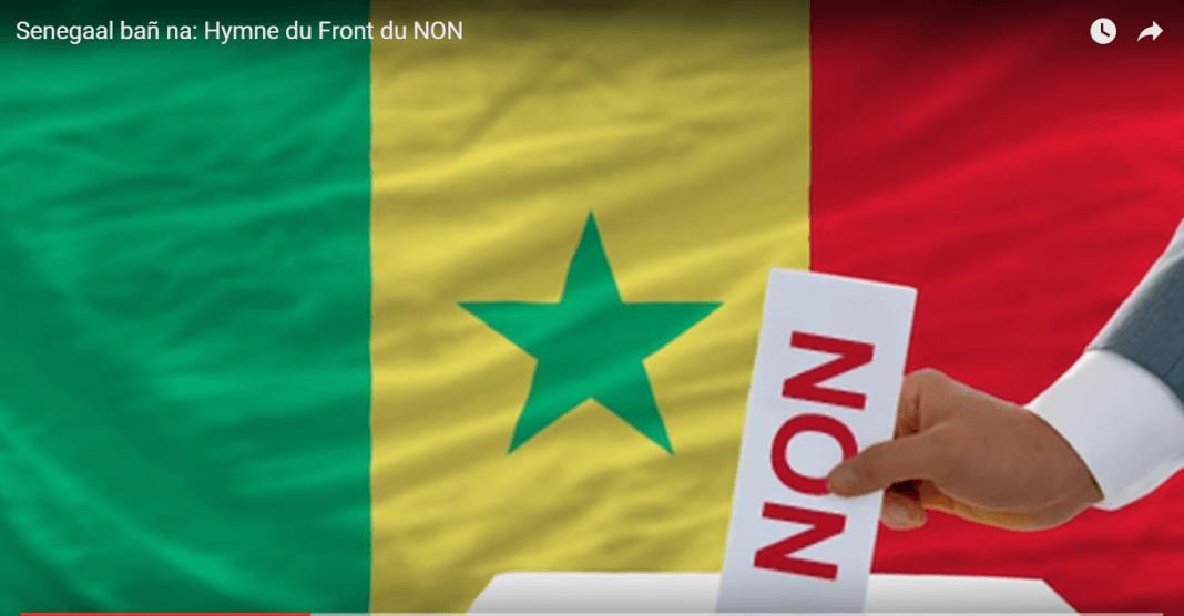 15 bonnes raisons de voter NON (Par Bayelas Sané)