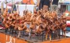 Au festival des grillades d'Abidjan, on déguste des escargots et du zèbre d'Afrique du Sud (REPORTAGE)