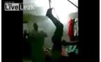 Vidéo: Regardez la barbarie des Saoudiens sur une domestique Éthiopienne