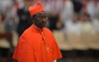 L'archevêque de Dakar, Théodore Adrien Sarr, prie pour Khalifa Sall
