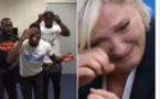 """Regardez des humoristes Africains se moquent de Marie Le Pen """"on est désolé"""""""