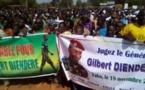 Burkina :une foule immense marche pour la libération du Général Dienderé