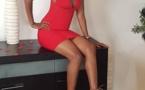 Photos: Queenbiz fait monter la température avec sa robe rouge très sexy