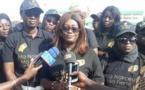 Des femmes marchent pour l'interdiction des produits dépigmentants