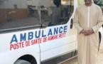 Le village de Agnack vient de réceptionner son ambulance des mains de Doudou KA DG de l'AIBD