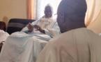 Sonko reçu par le Marabout de Idrissa Seck (Photos)