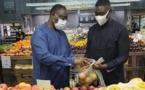 Macky dans un supermarché aux USA: Une très mauvaise image...