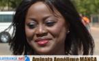 Aminata Angélique Manga gagne  avec deux voix de différence mais  Jubile