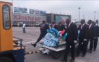 Arrivée de la dépouille de Papa Wemba à Kinshasa