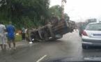 Bignona: Un véhicule de l'armée se renverse entre Thionck-Essyl et Mlomp et fait 5 blessés