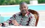 Le général Amadou Toumani Touré, discret à Dakar
