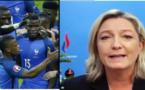 Marine Le Pen « Bravo à la Côte d'Ivoire pour sa victoire 5-2 contre l'Islande »