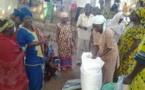 Photos: Dr Ibrahima Mendy distribue des tonnes de semences de riz aux agricultrices de Ziguinchor