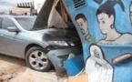Un enfant de 16 ans au volant d'un véhicule, a terminé sa course dans un salon de coiffure
