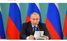 """Poutine : """"Daesh est financé par 40 pays""""  Ecoutez"""
