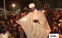 Présidentielle Gambienne: Regardez Yaya Jammeh, organise des scènes de sacrifices devant les cameras