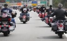 Investiture de Trump: des bikers assureront la sécurité avec un «mur de viande»