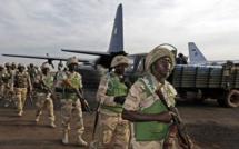 L'arrivée des premiers soldats Nigérians au Sénégal