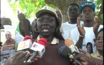 Ndeye Marième Babou à ses proches Apéristes: «  Prenez des cailloux et jetez...»