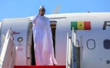 Le président Macky Sall, quitte Dakar pour  Banjul