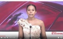 Regardez cette présentatrice de la TFM. Elle apparaît avec une robe de soirée