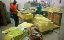 Législatives 2017: Tandian Imprimerie a déjà achimé plusieurs tonnes de bulletins de vote à la DGE