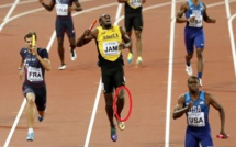 VIDEO: l'incroyable  blessure d'Usain Bolt en relais (Regardez)