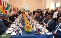 Déjeuner offert par le Président TRUMP en l'honneur des Chefs d'Etat africains