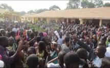 Mort de Fallou Sène: forte mobilisation des étudiants de  Ziguinchor