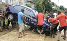 Au moins 19 morts dans des inondations à Abidjan