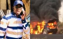 En mission pour Macky à Louga: Le véhicule de Fallou Diayenté Diop a pris feu